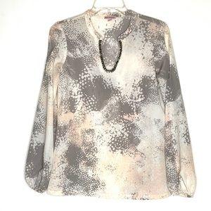 Juicy Couture Cold-Shoulder Blouse Size XS